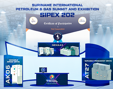 Triol, exhibition, oil and gas, VFD, VSD, AT24, AT27, AK06, offshore platforms, automation company, automation control
