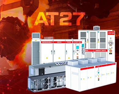 Variadores de frecuencia, Triol, AT27, la industria, metalúrgica, VFD